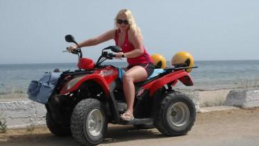 Quad fahren im Urlaub